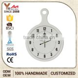 Quality Assured Factory Direct Price Christmas Craft MDF Wall Clock
