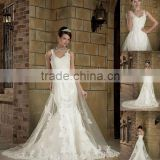 Factory Made Off-shoulder sweetheart neck sheath wedding dress XYY03-004