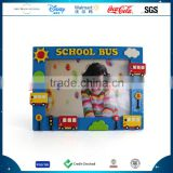School Bus Picture Photo Frame Resin Crafts With Baby Picture Frame Craft