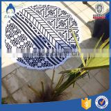 Wholesale watermelon shaped itsa turkish printed circle circular custom round beach towel