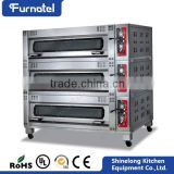 2016 Commercial Kitchen Gas pizza oven Bread Baking Gas Convection Oven                                                                         Quality Choice