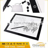 CE RoHs FCC certificate customized printed logo Huion A3 education writing drawing tracing board tatoo LED light box for kids                                                                         Quality Choice