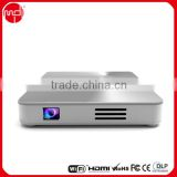 Hot Selling DLP 0.3DMD Mini Projectors with Android OS WIFI Bluetooth DLP LED Mini Projector