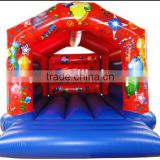 Inflatable bouncer in inflatable castle /slide combo inflatables/inflatable jumping bouncy castle