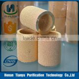 Sintered brass filter element