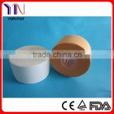 medical colored cotton sports tape/medical zinc oxide tape