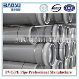 Underground PVC-M pipe for water supply