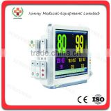 SY-C008 Clinics Apparatus 17 inch Touch screen Multi-parameter Modular monitor patient monitor