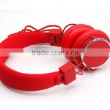 Hotsale super bass wire stereo headphone customized logo headset with mic games headphone
