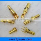 Machine pins brass material PCB Contact pin