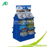 cardboard point of purchase book shop baby cartoon cardboard display bins