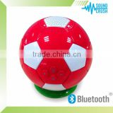 Football bluetooth speaker for 2014 brazil world cup