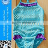 Customing 2-4 years old cute young girl bikini kids swimwear