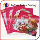 300gsm art matt paper woodfree childrens story books printing with gloss matte lamination