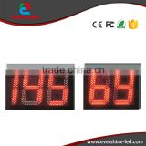 Radar speed measuring device sign display 2/3 digit number color Red and Green