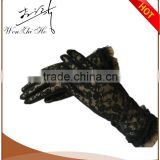 Beautiful Fashion Ladie Black Lace Gloves Party Dress Gloves Hot Sale