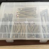 hot sale on super market plastic tool box with fixing anchor