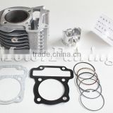 Hot sell motorcycle cylinder kit with piston kit for KVY 50mm Aluminum Alloy motorcycle part