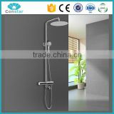 2016 made in china thermostatic Aluminum six massage jets bathroom shower panel