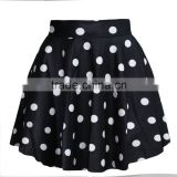 Wholesale Girls Sexy Mini Skirt 3D Print Black Dot TuTu Skirt N13-51