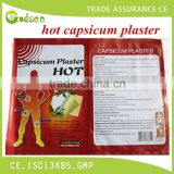 direct factory Body pain relief patch/back pain plaster/medicated pain relieving capsicum plaster