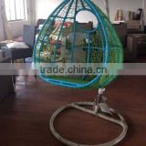 2016 popular style rattan hanging egg chair