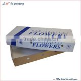 Simply design high quality cheap and portable type packaging box for flower made in shanghai