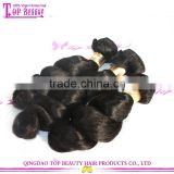 Qingdao high quality100% virgin indian remy temple hair wholesale weaving hair and beauty supplies