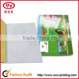 Customized Paper Cover Drawing Paper Spiral Drawing Book
