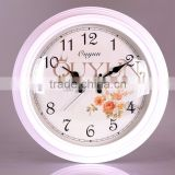 Home Decorative 16 inch Large Quartz Wooden Wall Clock