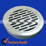 Stainless steel floor strainer