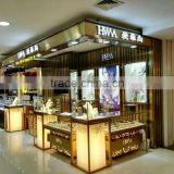 Toy quality retail jewelry store kiosk for sale/jewelry showcase design for malls