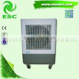 CE big stand fan portable chilled water fan coil units
