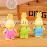 Wholesale children eraser cute rabbit eraser cartoon eraser