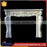 made in China large white marble fireplace for sale NTMF-F515X
