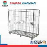 Stacking security logistics container pallet trolley Super Jumbo Demountable Roll Pallet roll cage