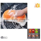 AZO free Microfiber car wash sponge gloves,10year chinese supplier waterproof chinelle mitt, BSCI promotional car mitt
