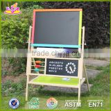 2017 New design wooden magnetic drawing board high quality wood kids drawing board best wood drawing board for toddlers W12B103