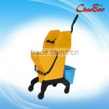 ChaoBao Down-press Single Mop Bucket Wringer Trolley For Home/Hotel