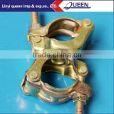 construction hardware scaffolding prop Fixed /Swivel Clamp,construction steel scaffolding