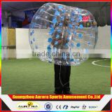 Factory supply inflatable human bubble ball colored dots inflatable soccer bubble ball inflatable bumper ball
