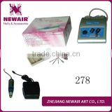 Professional friendly electric nail manicure filing machine