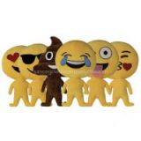 6 Style Foreign Trade New Emoji Expression Cartoon Cute Plush Doll, Creative Series QQ Pillow