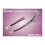 Single Row Female Wafer Wire to Wire Connector 1.20mm Pitch 2 Contacts