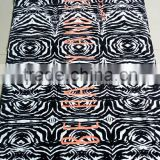 2017 new design custom size full digital print velour/terry 100cotton Black beach towels