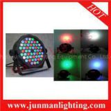 54*3w RGBW Flat LED Par Light DJ Party Stage Par64 Lighting