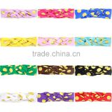 Europe wave Chinese baby rabbit ear knot dot bronzing headband jewelry wholesale trade goods supply