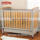 Home Decoration Use and Wicker Material baby sleeping bed