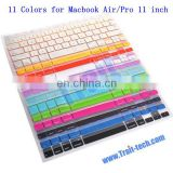 High Quality Silicone Keyboard Protector for Macbook Air/Pro 11 inch