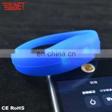 New Coming 100% Full Test Rohs And Ce Approved Full Silicone Material Bracelet With Charm Factory Directly